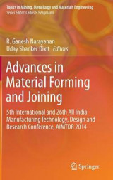 Omslag - Advances in Material Forming and Joining