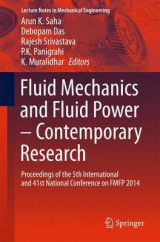 Omslag - Fluid Mechanics and Fluid Power - Contemporary Research