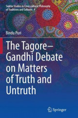 Omslag - The Tagore-Gandhi Debate on Matters of Truth and Untruth
