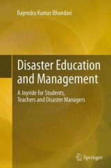 Omslag - Disaster Education and Management