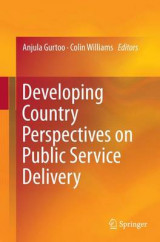Omslag - Developing Country Perspectives on Public Service Delivery