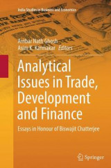 Omslag - Analytical Issues in Trade, Development and Finance