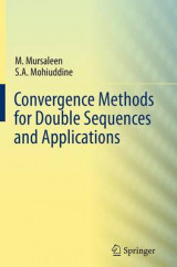 Omslag - Convergence Methods for Double Sequences and Applications