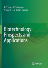 Omslag - Biotechnology: Prospects and Applications