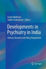 Omslag - Developments in Psychiatry in India