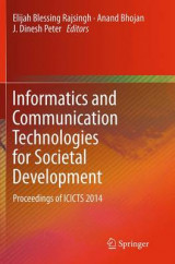 Omslag - Informatics and Communication Technologies for Societal Development