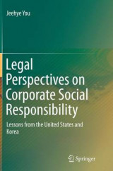 Omslag - Legal Perspectives on Corporate Social Responsibility