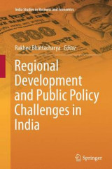 Omslag - Regional Development and Public Policy Challenges in India