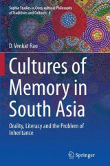 Omslag - Cultures of Memory in South Asia