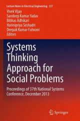 Omslag - Systems Thinking Approach for Social Problems
