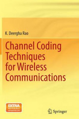 Omslag - Channel Coding Techniques for Wireless Communications