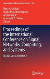 Omslag - Proceedings of the International Conference on Signal, Networks, Computing, and Systems 2016: Volume 2