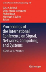 Omslag - Proceedings of the International Conference on Signal, Networks, Computing, and Systems 2016: Volume 1
