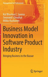 Omslag - Business Model Innovation in Software Product Industry