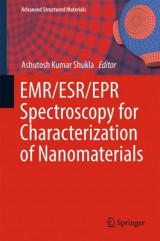 Omslag - EMR/ESR/EPR Spectroscopy for Characterization of Nanomaterials 2017
