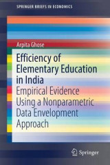 Omslag - Efficiency of Elementary Education in India