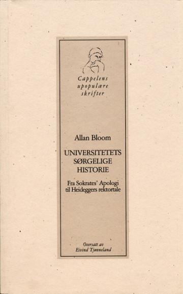 Bilde av Universitetets Sørgelige Historie