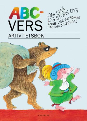 Bilde av Abc-vers Om Små Og Store Dyr Aktivitetsbok