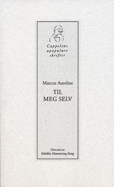 Super Til meg selv av Marcus Aurelius (Heftet) - Filosofi   Tanum YU-08