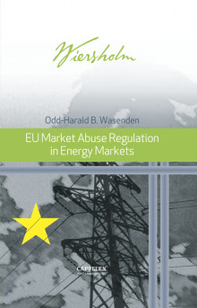 EU Market Abuse Regulation in Energy Markets av Odd-Harald B. Wasenden (Innbundet)