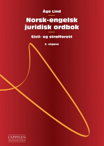 Bilde av Norsk-engelsk Juridisk Ordbok