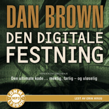 Den digitale festning av Dan Brown (Lydbok MP3-CD)