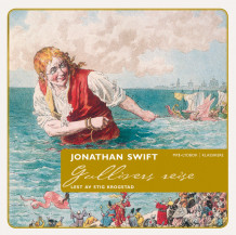 Gullivers reiser av Jonathan Swift (Lydbok MP3-CD)