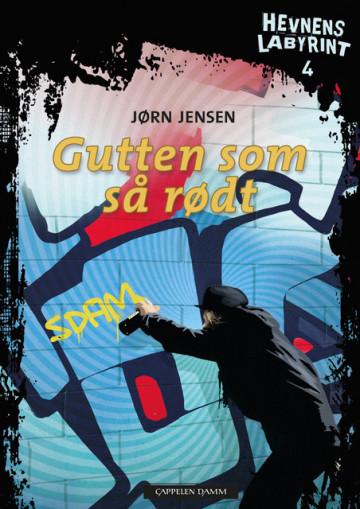 Hevnens labyrint 4 Gutten som så rødt Jørn Jensen {TYPE#Heftet}