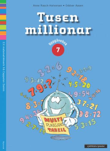 Bilde av Tusen Millionar 7 Oppgåvebok