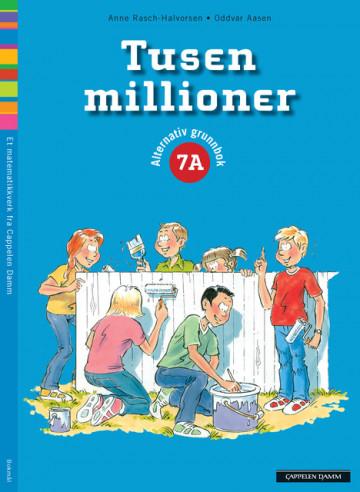 Bilde av Tusen Millioner 7a Alternativ Grunnbok