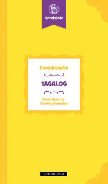 Bilde av Toktok Språkglede Foreldrehefte Tagalog