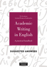 Omslag - Suggested answers to the exercises in Academic writing in English