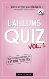 Omslag - Lahlums Quiz vol. 1
