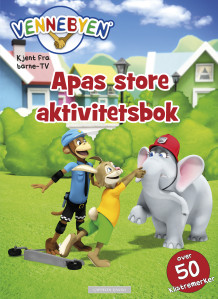 Vennebyen - Apas store aktivitetsbok av CreaCon Entertainment AS (Heftet)