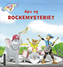 Vennebyen - Apa og rockemysteriet av CreaCon Entertainment AS (Innbundet)