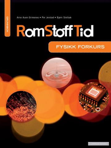 Bilde av Rom Stoff Tid Forkurs Grunnbok (2016)