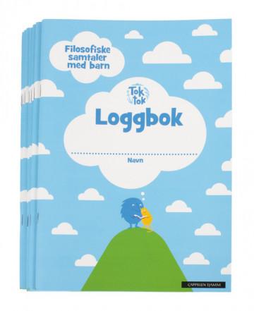 Bilde av Toktok Filosofiske Samtaler Med Barn Loggbok (8 Stk)