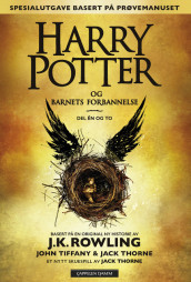 Omslag - Harry Potter og Barnets forbannelse