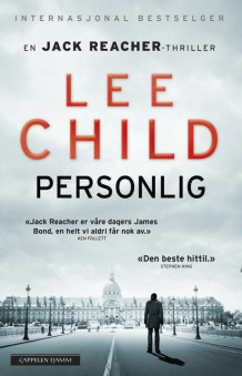 Personlig av Lee Child (Heftet)