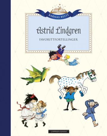 Bilde av Barnas Beste: A. Lindgren - Favorittfortellinger