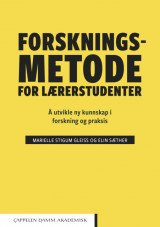 Omslag - Forskningsmetode for lærerstudenter