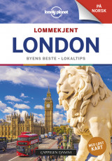 Omslag - London Lonely Planet Lommekjent