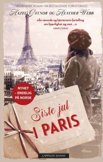Siste jul i Paris Hazel Gaynor {TYPE#Heftet}