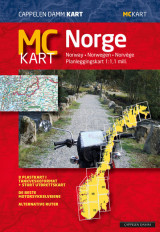 Omslag - MC - kart Norge 2019 / MC - map Norway 2019