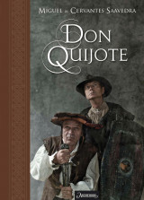 Omslag - Don Quijote