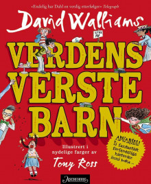 Verdens verste barn av David Walliams (Innbundet)