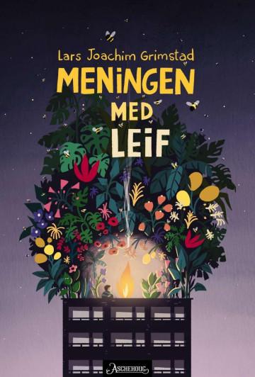 Bilde av bokomslaget til 'Meningen med Leif'