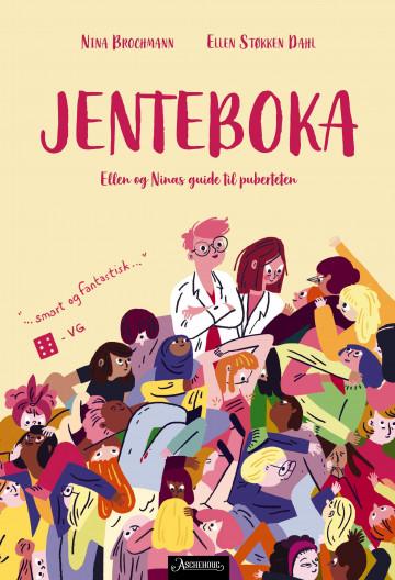Bilde av bokomslaget til 'Jenteboka'
