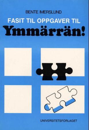 Bilde av Ymmärrän!