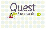 Omslag - Quest. Flash cards. 1.-4. klasse